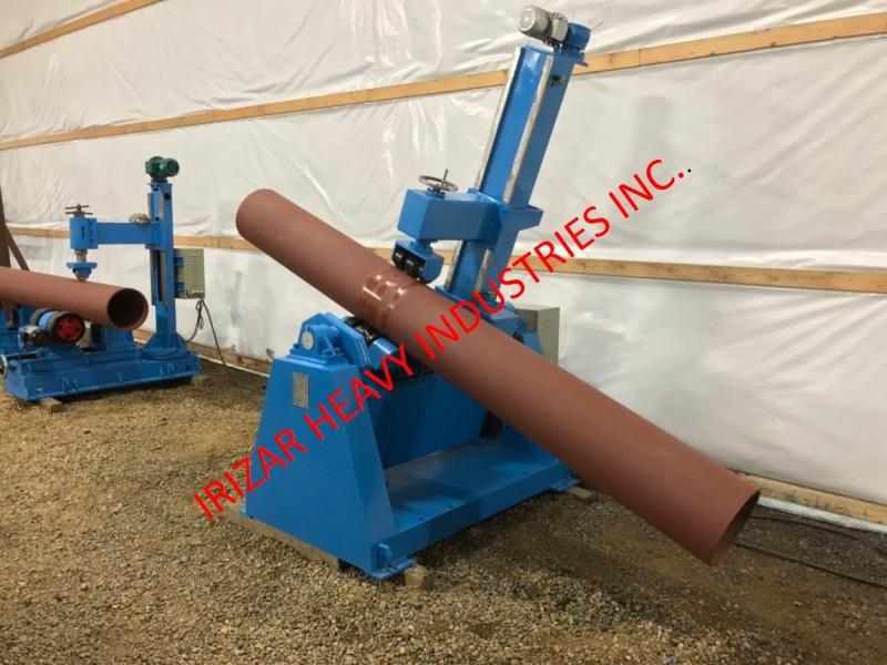 Pipe Rotators - Irizar Heavy Industries Inc
